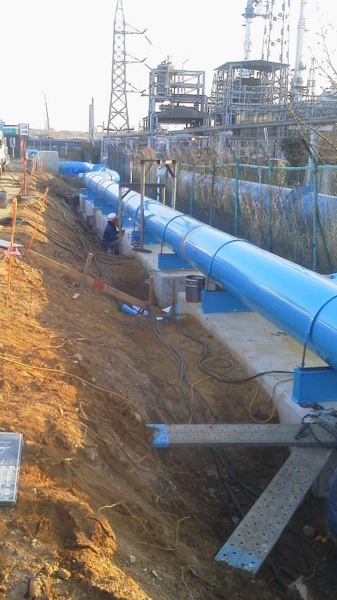 700π工業用水管工事一式(いわき市平)